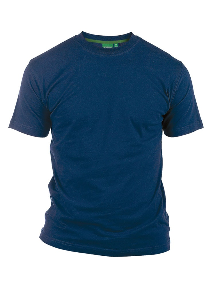 D555 Premium Cotton T-Shirt Navy
