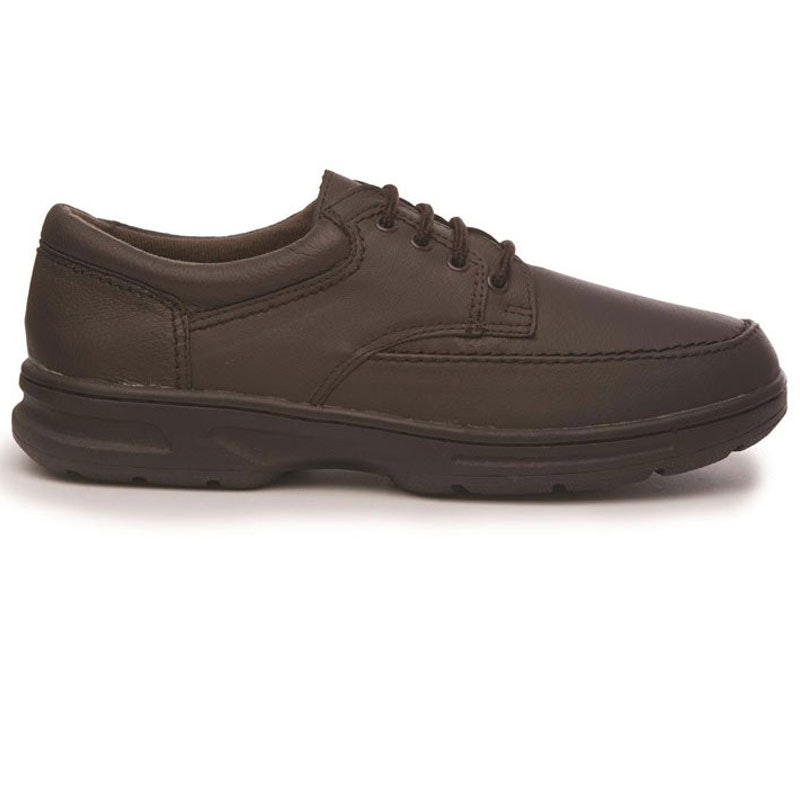 Dr Keller Brian Leather Lace Up Shoe in Brown