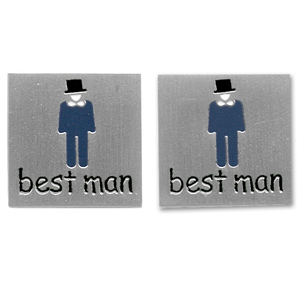 Sophos Best Man Wedding Cufflinks