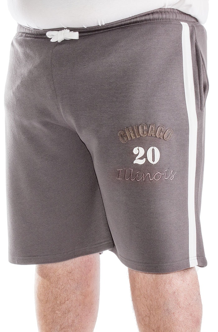 Bigdude Chicago Jogger Shorts Graphite