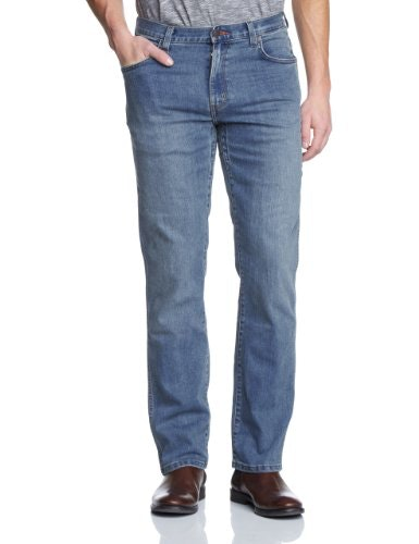 Wrangler Texas Stretch Mid Blue Jeans